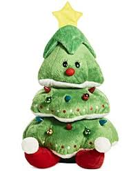 Holiday Lane Animated <b>Plush</b> Light-Up Rocking <b>Christmas Tree</b> ...