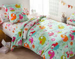 Parure de lit enfant : couette et drap pour lit d enfant Carr Blanc