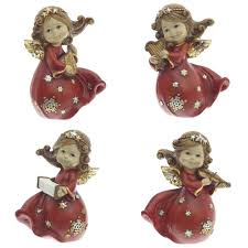 Купить <b>Фигурка декоративная Ангел</b>, 14 см, 1 вид из 4 - не набор ...