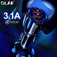 <b>Olaf</b> Car <b>USB</b> Charger Quick Charge 3.0 2.0 Mobile Phone Charger ...