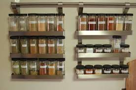 Kitchen Racks Stainless Steel Stainless Steel Hanging Spice Rack Kitchen Ideas Spice Rack