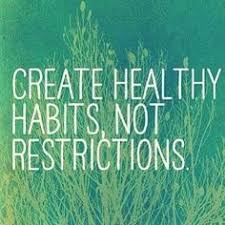 Image result for plate with words saying healthy living