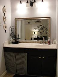 it black and white bathroom furniture