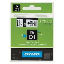 Купить <b>Картридж</b> для принтеров этикеток <b>DYMO D1</b>, 6 мм х 7 м ...