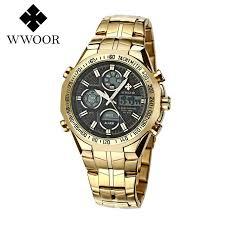 Shop <b>WWOOR Top</b> Luxury <b>Brand</b> Watch Fashion Sports <b>Men</b> Dual ...