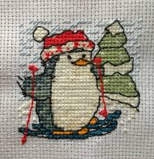 <b>Cute Little Penguin</b> Cross Stitch by SerenityFey - this cutie was a ...