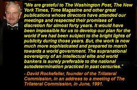 David Rockefeller NWO CFR Bilderberger Trilateral Commission UN ... via Relatably.com