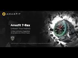 <b>Amazfit T</b>-<b>Rex</b> (World's Toughest <b>Smartwatch</b>) <b>First</b> Look - Global ...