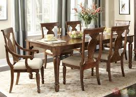 Formal Dining Room Set Rustic Rectangular Formal Room Rustic Cherry Rectangular Table