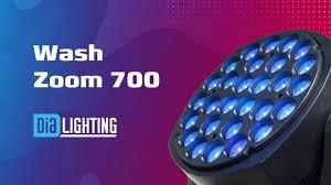 Dialighting <b>Wash Zoom</b> 700 - YouTube