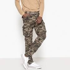 Мужские летние <b>брюки</b> из хлопка | <b>La Redoute</b>