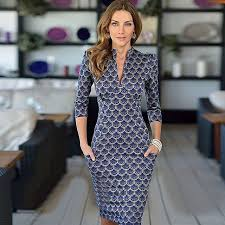 <b>2015 new fashion</b> women dress wear style half sleeve v-neck ...