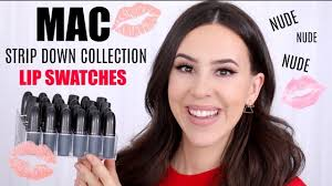 *NEW* <b>MAC</b> STRIP <b>DOWN</b> LIPSTICK COLLECTION 2019 || Haul ...
