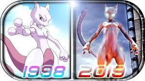 EVOLUTION of <b>MEWTWO</b> in Movies Cartoons <b>Anime</b> TV (1998 ...