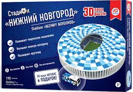 <b>IQ 3D Puzzle 3D Пазл</b> Нижний Новгород 16554, цвет белый ...