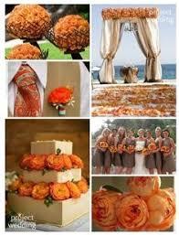 ideas burnt orange: beautiful burnt orange wedding idea i love it