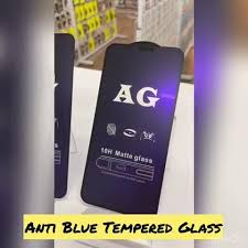 INSTOCK -<b>FULL</b> ANTI BLUE <b>MATTE TEMPERED</b>... - Famous Phone ...