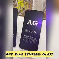 INSTOCK -<b>FULL</b> ANTI BLUE <b>MATTE TEMPERED</b>... - Famous Phone ...