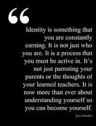 Identity Quotes on Pinterest   Childish Quotes, Amazing Man Quotes ... via Relatably.com