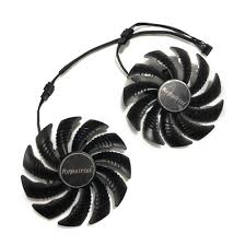 Detail Feedback Questions about <b>2pcs/set 4pin 85mm</b> RX570 GPU ...