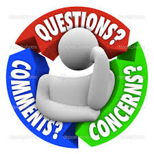 questions comments concerns customer support diagram stock photo a thinking man in the center of an arrow diagram arrows representing aspects of customer service or support questions comments and concerns photo