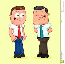 Image result for cartoon of two people talking