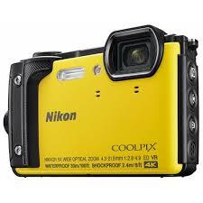 Купить <b>Фотоаппарат Nikon Coolpix W300</b> желтый в каталоге с ...
