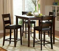 Dining Room Table And 4 Chairs High Tall Dining Chair And Black Leather Chair Pads Wonderful