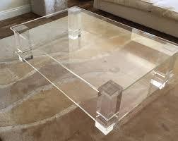 coffee table acrylic perspex furniture