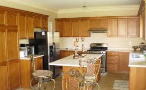 dark wood cherry kitchen cabinets color a