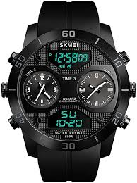 Tonshen <b>Men's Watch</b> Sports <b>Watch 50M Waterproof</b> Outdoor ...