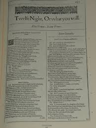 the book mine set  reader s diary 907 william shakespeare twelfth night