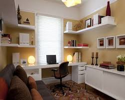 office workspace wall shelves home offices wall shelves office home office furniture ideas with 2 person built home office desk builtinbetter