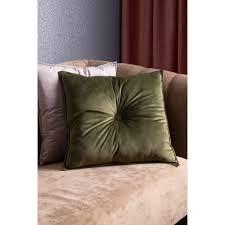 <b>Подушка</b> «Бархат», 45х45 см, цвет зелёный в Москве – купить по ...