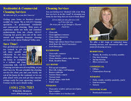 best images of cleaning tri fold brochure commercial cleaning service brochure