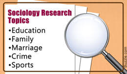 interesting sociology research topic ideas you must read