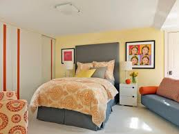yellow eclectic teen boys room with closet detail bedroomappealing geometric furniture bright yellow bedroom ideas