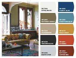 paint color design ideas dark
