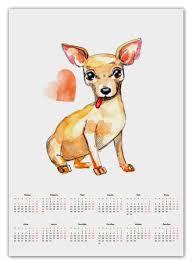 <b>Календарь А2</b> Pam-pam-pam-pa-pa... Chihuahua! #974303 от ...