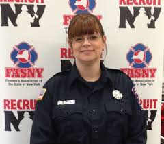 do you want to become a firefighter cny fire departments to host kim morini became a baldwinsville volunteer firefighter after the 2013 recruitny event provided photo
