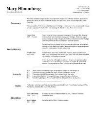 Mid Level Nurse Resume Sample