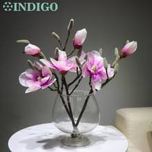Индиго-3 шт <b>Розовый</b> Магнолия короткая мангнолия ...