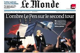 「フランス極右政党の国民戦線(FN)章」の画像検索結果