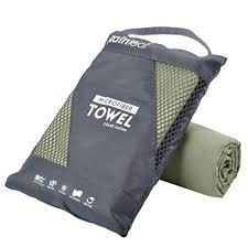 Rainleaf Microfiber Towel, Army Green, 12 X 24 ... - Amazon.com