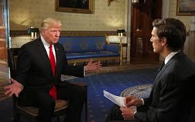 donald trump s first interview as president transcript com
