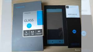 <b>Защитное стекло Brosco для</b> Sony Xperia XA1 Plus купить в ...