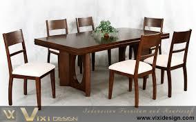 modern dining table teak classics: classic modern teak wood dining set
