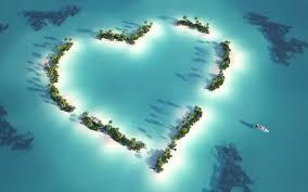 Maldives Coeur Fête des Meres