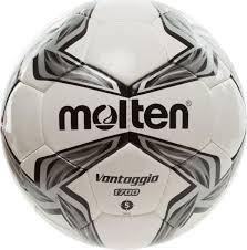 """<b>Мяч футбольный</b> """"<b>Molten</b>"""", цвет: белый, черный, серый. Размер 5 ..."""