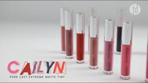 FD Swatch Sister: <b>Cailyn Pure Lust Extreme</b> Matte Tint: Full ...